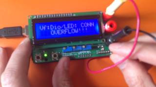 Digital multimeter shield for Arduino