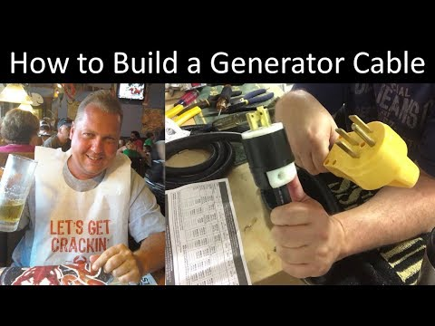 How to build a generator cable