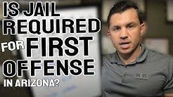 Is Jail Required for a First Offense DUI in Arizona? - R&R Law Group