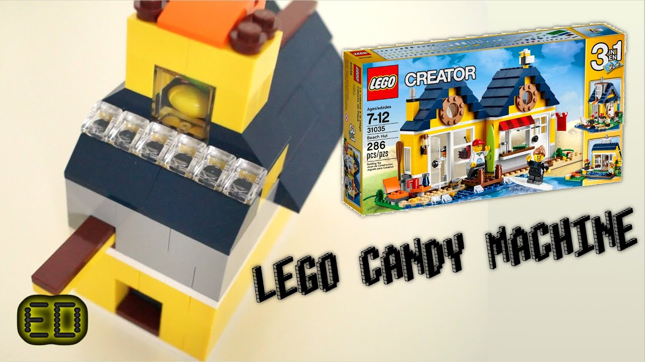 lego creator 31035 candy machine   instructions