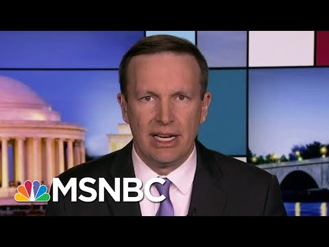Murphy: Trump Inconsistency 'An Absolute Foreign Policy Disaster' | Rachel Maddow | MSNBC