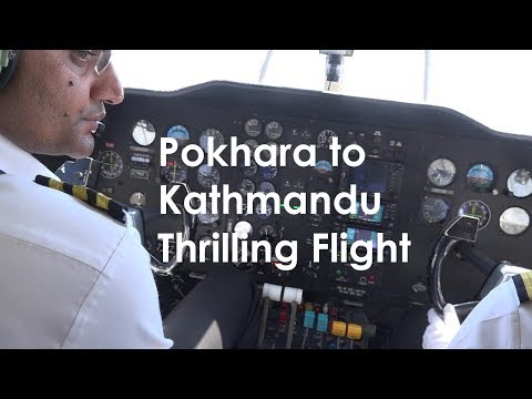 Pokhara to Kathmandu Flight with Nepal Airlines