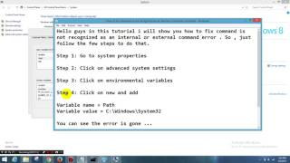 Adb is not recognized as an internal command windows 8