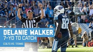 Marcus Mariota Ties Game with TD Pass to Delanie Walker! | Colts vs. Titans | NFL