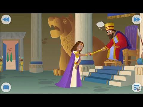 Biblia para Niños - La Reina Ester - Ester 2-5