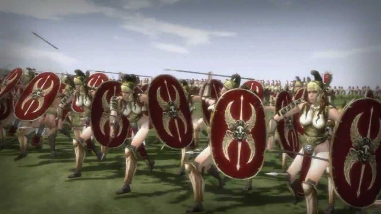 Amazon: Total War mod extends Rome map and adds new units