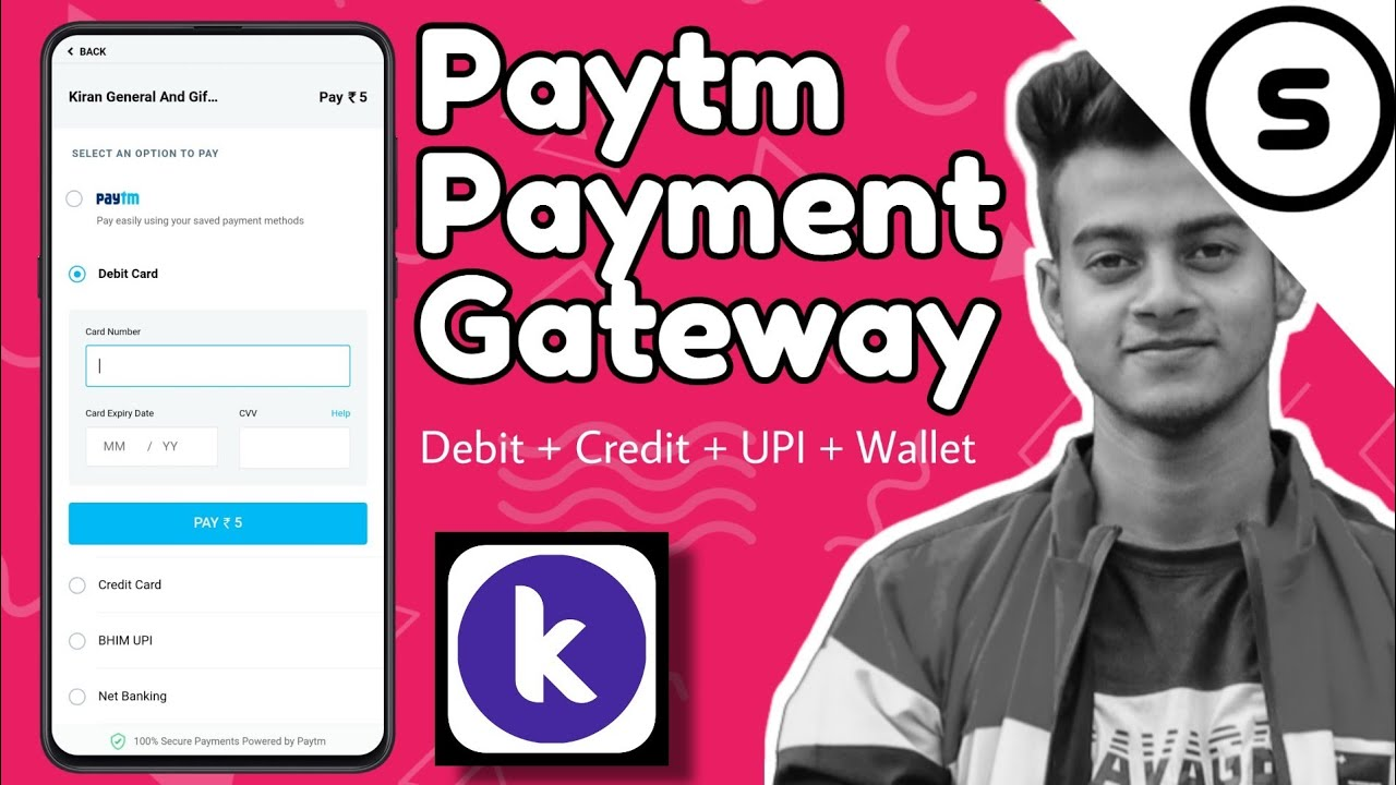 How to use Paytm payment gateway on kodular | Paytm Payment aix |