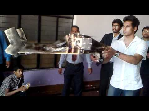 4 Fan Helicopter + Aeroplane (Engineering Project)