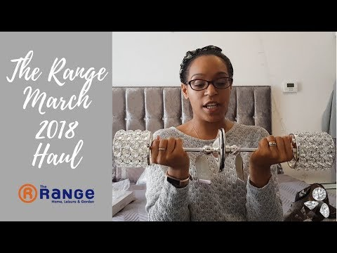 THE RANGE    SMALL SPARKLY HOMEWARE HAUL    and entertaining the 2 year old