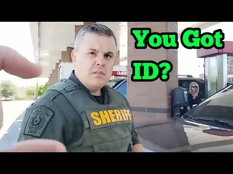 Asking Cops The Same Silly Questions They Ask Us, Cop Car Searched