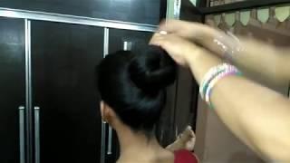 Download Video Bun drop challenge for long hair || Bun drop only for long hairs MP3 3GP MP4