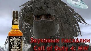 Офигенные звуковые пасхалки Call of Duty 4: Modern Warfare