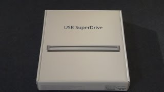 Gambar cover 2013 Apple USB SuperDrive unboxing