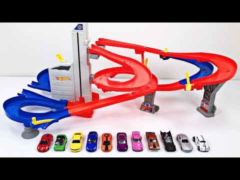 Thumbnail: Best Toddler Learning Colors Hot Wheels Cars Trucks for Kids #1 Teaching Colours Hot Wheels Track