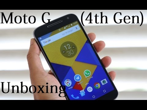 Moto G (4th Gen) WITH AMAZON OFFERS - Unboxing + BUG!