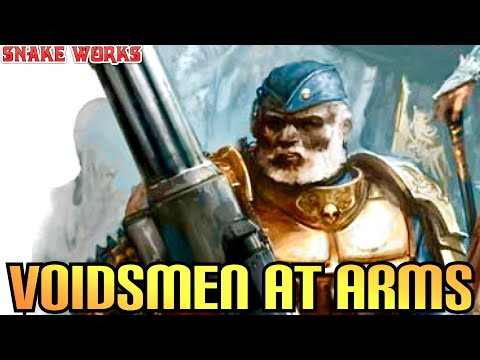 Voidsmen at Arms - Rogue Trader - Warhammer 40k - Lore - Space navy!