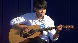 Bùi Thanh Liêm độc tấu đàn ghita phi diệu nhất.