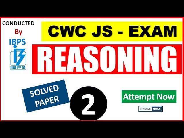 CWC Junior Superintendent Exam- Solved PAPER 2019 EXAM (by PracticeMock.com)
