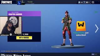 Daequan Reacts to *NEW* Hacivat Skin in Fortnite