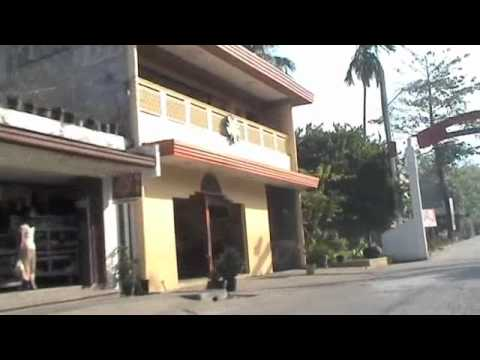 Tricycle ride into Kabankalan City, Negros Occidental, Philippines Travel Video