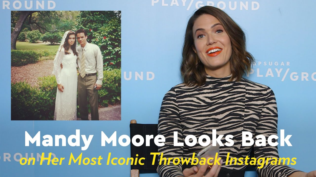 Mandy Moore Shared Photos of Her Very 90s Homecoming