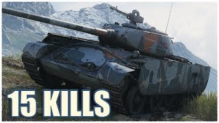 T-44-100 (R) • 15 KILLS • WoT Gameplay