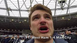 WEST HAM VS MAN CITY (1-4) HIGHLIGHTS | CITY ARE UNSTOPPABLE | MOYES GOT IT WRONG!