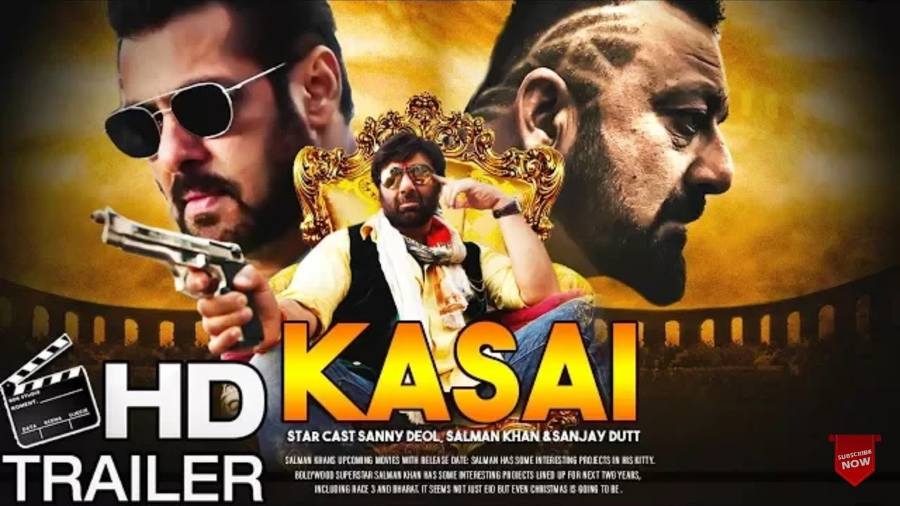 Kasai Movie First Look   Salman Khan , Sunny Deol & Sanjay ...