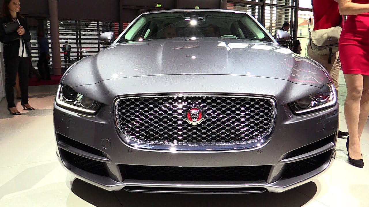2015 Jaguar XE 2.0T   Exterior And Interior Walkaround   Debut At 2014  Paris Auto Show   YouTube