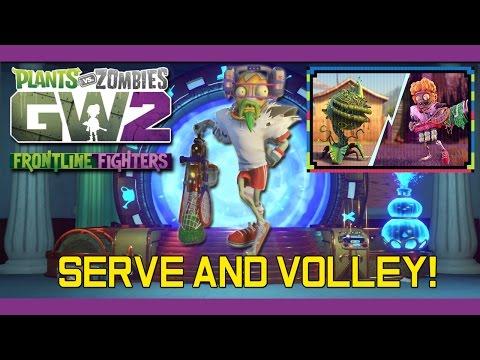 PvZ Garden Warfare 2 - Serve and Volley! OVERPOWERED Tennis Star Gameplay