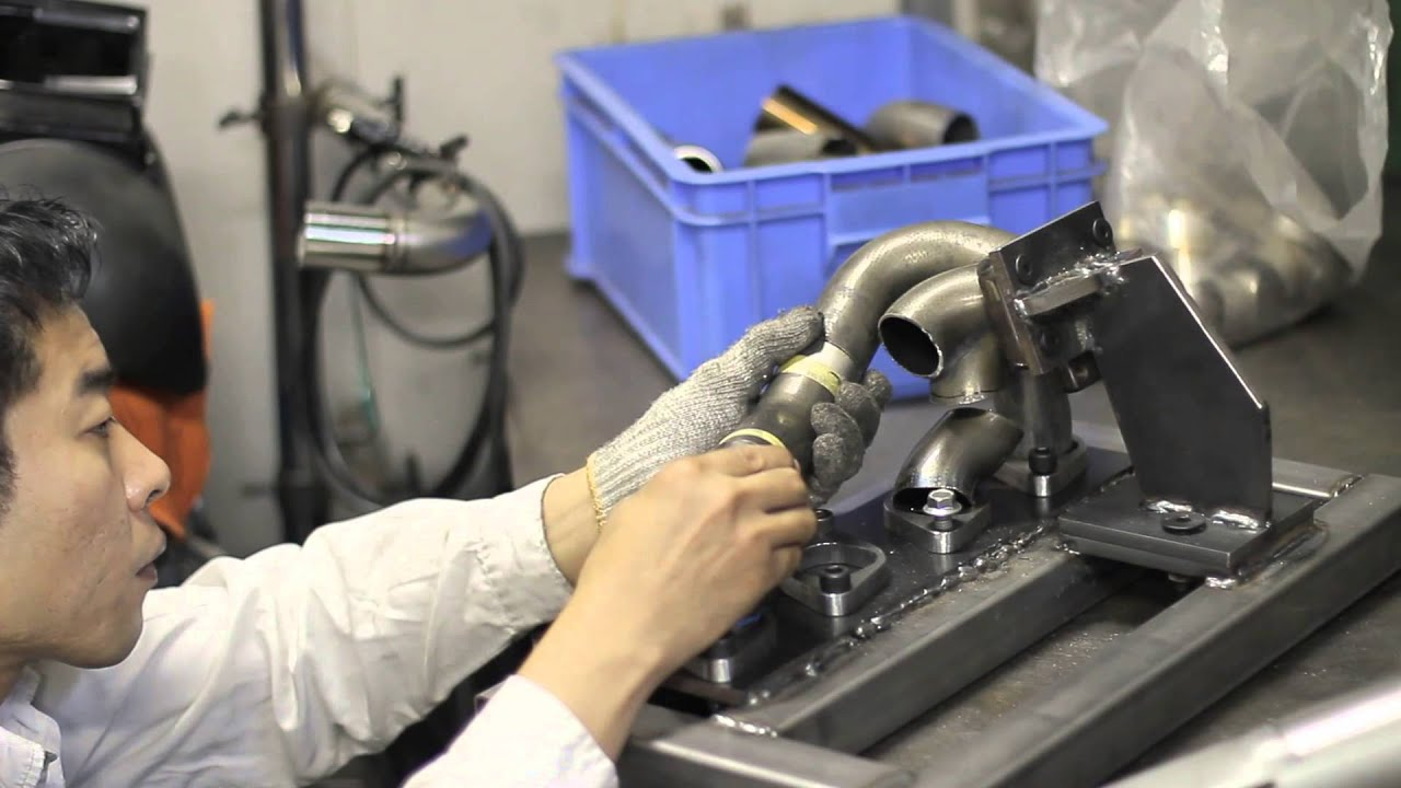 The Making Of 240sx Custom Exhaust Manifold Made To Suit