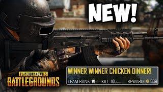 NEW PUBG Xbox Update! (The New Gun is INSANE)