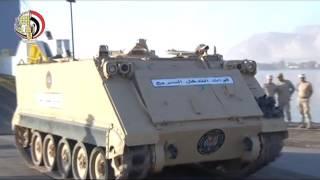"""بالفيديو..عودة القوات المصرية المشاركة فى التدريب المشترك """"رعد الشمال 2016"""""""