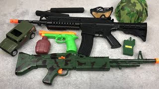 Toy Guns Box of Toys Army Soldier Toy Weapons
