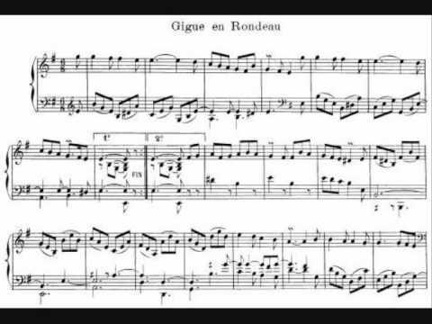 03. J.P.Rameau - Gigue en Rondeau - Pièces de Clavecin (Scott Ross)