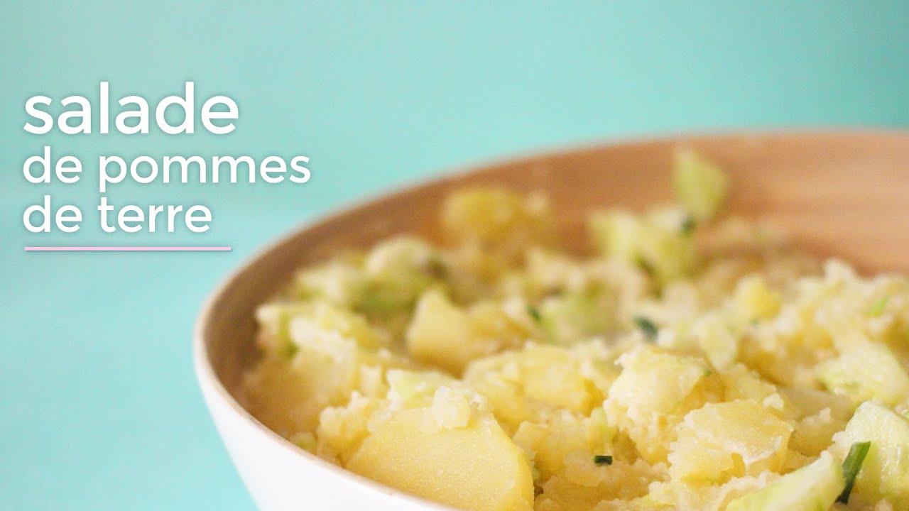 salade de pommes de terre concombres et vinaigrette recette delicaroom fr youtube. Black Bedroom Furniture Sets. Home Design Ideas