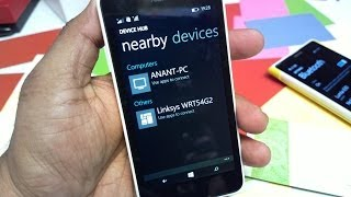 Device Hub Demo on Windows Phone 8.1