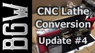 """7x10"""" CNC Lathe Conversion - Update #4 - Enclosure and Wiring complete! On to the Mechanical Stuff!"""