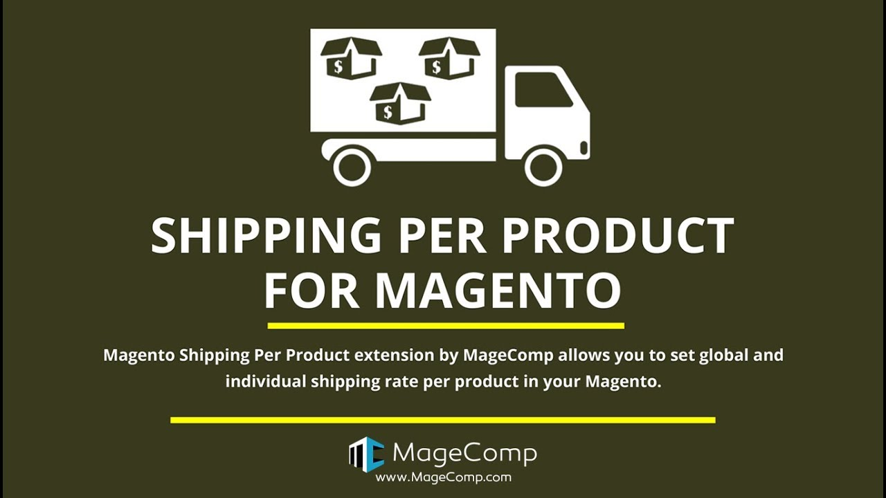 Magento Shipping Per Product, Magento Shipping Per Item