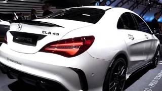 2018 Mercedes AMG CLA45 ProCoupe FullSys Features | New Design Exterior Interior | First Impression