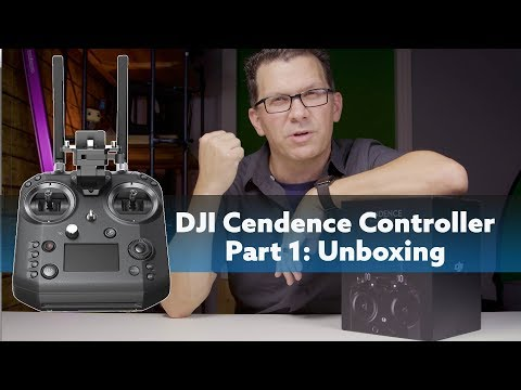 DJI Cendence Remote For Inspire 2 & M200 Unboxing and Overview
