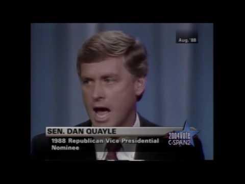 Dan Quayle 1988 VP nomination acceptance speech