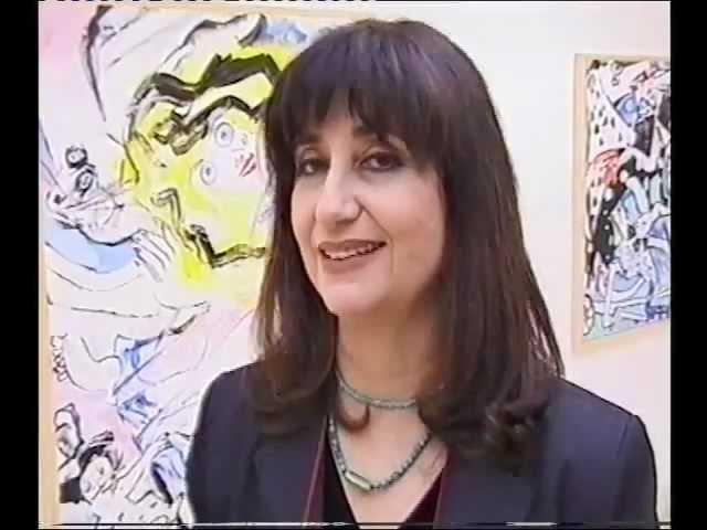 האמנית אילנה רביב במוזיאון וילפריד ישראל לאמנות - 4