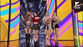 BLACKPINK Melon Müzik Ödülleri 2018 | Türkçe Altyazı