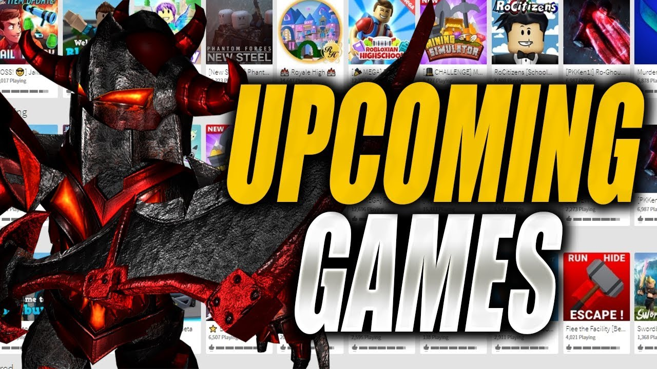 BEST Roblox Games Coming Soon That YOU NEED TO PLAY | iBeMaine