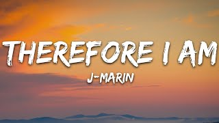 J-Marin - Therefore I Am (Lyrics) [7clouds Release] Cover of Billie Eilish