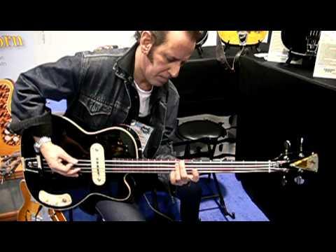 Kay Guitars at NAMM pt. 13 Kenny Aaronson