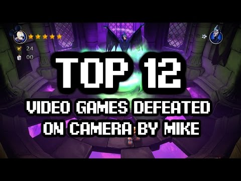 Top 12 Video Games Defeated On Camera by Mike Matei