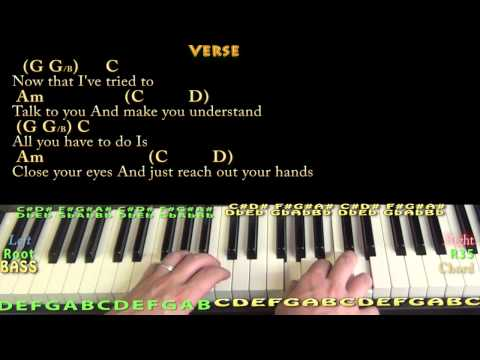 More Than Words (EXTREME) Piano Cover Lesson with Chords/Lyrics ...