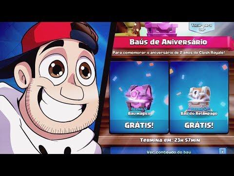 Clash Royale: BAU GRÁTIS PODE VIR LENDÁRIA ‹ AMENIC ›
